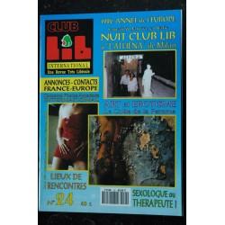 Club Lib International N° 23 Infos couples exhib. Aurore Lingerie fantasmes Barbara KELLY