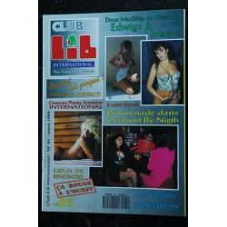 Club Lib International N° 24 Sexologue ou Thérapeute Art et Erotisme BELLISSIMA KIRSTEN YASMIN