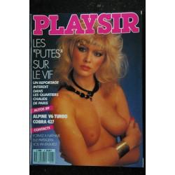 PLAY-SIR 05 N° 5 AUTO-RETRO Lingerie Passion 12 vedettes mises à nu Spécial USA Les stars du porno au chomage