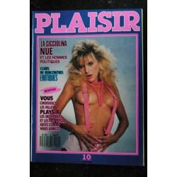 Plaisir 09 N° 9 Les plus belles filles de 1989 TRACY ERIKA SUSAN & COURTENEY SHEILA et VISINA ...