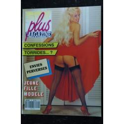 Sex Plus Magazine 18 N° 18 Perversions sexuelles Lycéennes en folie SERENA EIRHICA FREIA SIMONE Mariée