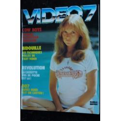 VIDEO 7 012 N° 12 1982 Brigitte BARDOT Romy SCHNEIDER + CAHIER EROTIC