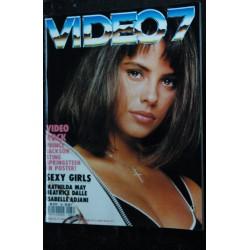 VIDEO 7 079 N° 79 1988 CAROLE BOUQUET PORSCHE LAMBERT WILSON + CAHIER EROTIC
