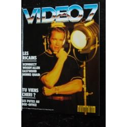 VIDEO 7 106 1990 SHARON STONE ELVIS PRESLEY Ornella MUTI + CAHIER EROTIC