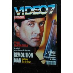 VIDEO 7 140 1994 LES GUIGNOLS BRUCE WILLIS Jean-Pierre BACRI + CAHIER EROTIC