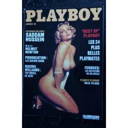 PLAYBOY 13 HELMUT NEWTON RACHEL WILLIAMS TOP MODEL BEST OF PLAYMATES NUDES SEXY
