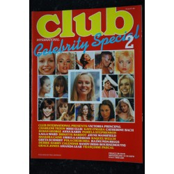 Club International Celebrity Special 01 N° 1 * 1980 * MARILYN MONROE BRIGITTE BARDOT URSULA ANDRESS CATHERINE DENEUVE