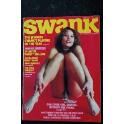 SWANK 1977 05 MAY GEORGE HARRISON TONY CURRIN SHARON SUSSMAN OLIVIA DE BERARDINIS