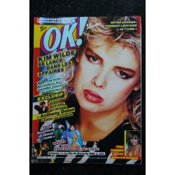 OK ! âge tendre 480 KIM WILDE ANTHONY DELON TINA TURNER