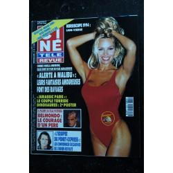 CINE TELE REVUE 9345 PAMELA ANDERSON cover + 3 p