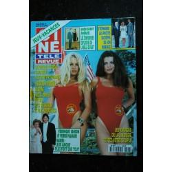 CINE TELE REVUE 9528 PAMELA ANDERSON cover + 4 p