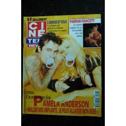 CINE TELE REVUE 9626 PAMELA ANDERSON cover + 6 p