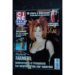 CINE TELE REVUE 2000 02 03 n° 5 MYLENE FARMER COVER + 4 pages La plage CAPRIO