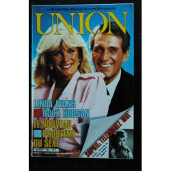 UNION 1988 07 n° 193 RARE INTERVIEW SERGE GAINSBOURG 14 PAGES COMMENT JE FAIS L'AMOUR