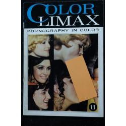 Color Climax N° 14 *1970 env. * Vintage Roman Photo Adultes