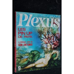 PLEXUS 8 * 1967 * SAN ANTONIO DEBLOQUE-NOTES WINGATE PAINE STRIP SERRE GUS WOLINSKI 1967