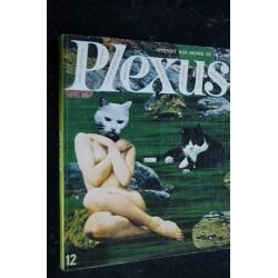 PLEXUS 12 GERARD DEUQUET G. GACHET EROTISME PHOTO MASSAL MARIE-FRANCE BOYER NUE
