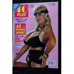 40 Plus Vol. 1 N° 9 * 1992 * RUDE NUDE MIDDLE-AGED SPREADS NUDE EROTIC CHARME
