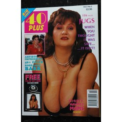 40 Plus Vol. 2 N° 5 * 1993 * WORLD'S BEST SWELLER SEX BOMBS NUDE EROTIC CHARME