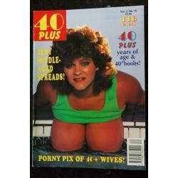 40 Plus Vol. 2 N° 9 * 1993 * MUMSY MAMMS GLAM GRANS NUDE EROTIC CHARME
