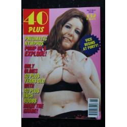 40 Plus Vol. 3 N° 3 * 1993 * JAYNE MANSFIELD Intimate Secrets Exposed ! NUDE EROTIC CHARME