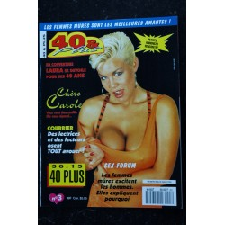 40 & Plus n° 2 * 1993 * VERONIQUE 44 ans CAROLE CATHERINE NUDE EROTIC CHARME
