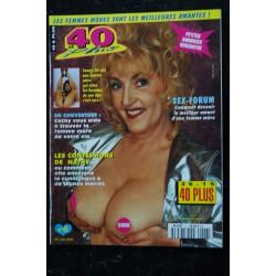 40 & Plus n° 5 * 1994 * NATHY 46 ans CAROLE SEX-FORUM NUDE EROTIC CHARME