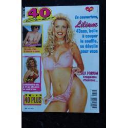 40 & Plus n° 10 * 1995 * AMANDA 42 ans ouvre son coeur et plus encore SEX-FORUM NUDE EROTIC CHARME
