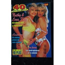 40 & Plus n° 17 * 1997 * CATHY 55 ans VERO 47 ans Eve s'offre deux hommes SEX-FORUM NUDE EROTIC CHARME