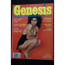 Genesis 1982 / 09 ERIC WEBER Photos : Jean Rougeron JS Hicks Steve Pettit Hubert Blume EROTIC NUDE