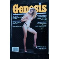 Genesis 1982 / 10 PIA ZADORA Photos : Jean Rougeron JS Hicks Steve Pettit Eric Weber EROTIC NUDE