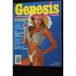 Genesis 1983 / 03 CATHY LEE GROSBY JAMES DUNNIGAN Photos : Bob Veze J Stephen Hicks Jerome Bischoff Steve Petit EROTIC NUDE