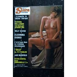 Sex Stars System 09 N° 9 DEREK FORD Les vamps décadentes Cinéma érotique japonais JANE BIRKIN