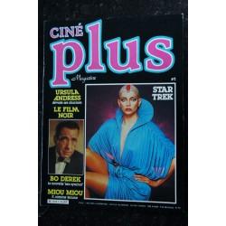 CINE Plus Magazine 2 Gérard DEPARDIEU Jean ROLLIN Jacqueline BISSET