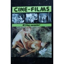 CINE-FILMS n° 4 * 1979 * 16 films racontés ANNE LIBERT DIANE DUBOIS FRANCOISE MAILLOT BRIGITTE LAHAIE NUS