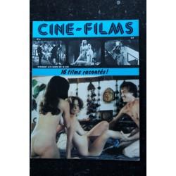 CINE-FILMS n° 5 * 1979 * 16 films racontés Marie Liljedahl Sylvie Meyer Anita Strindberg Rod Taylor Nudes