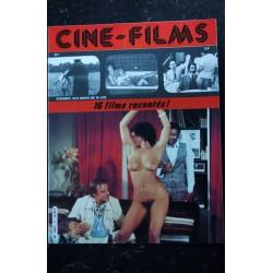 CINE-FILMS n° 6 * 1980 * 16 films racontés Pamela Stanford Josiane Balasko Emmanuelle Arsan Brigitte Lahaie Nudes