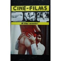 CINE-FILMS n° 11 * 1980 * 16 films racontés BRIGITTE LAHAIE Sandra Julien Lina Romay Karine Gambier Erotic