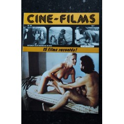 CINE-FILMS n° 17 * 1981 * 16 films racontés Esther Paland Klaus Kinski Monica Vitti Elodie Delage Sylvia Kristel Erotic