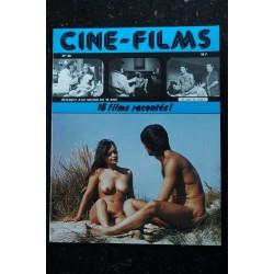 CINE-FILMS n° 19 * 1982 * 15 films racontés Gina Jansen Brigitte Lahaie Karine Gambier Bulle Ogier Erotic