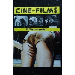CINE-FILMS n° 21 * 1982 * 16 films racontés Ursula Fellner Juliette Mills Cathy Stewart Brigitte Lahaie Erotic