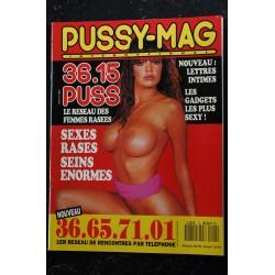 PUSSY-MAG INTERNATIONAL 4 FANTASMES INTEGRAL NUDES PIN-UP STRIP RASEES EROTISME