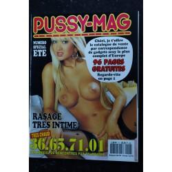 PUSSY-MAG INTERNATIONAL 5 RASEES LETTRES INTIMES FANTASMES GIRLS AU NATUREL NUDE