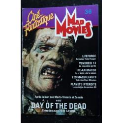Ciné Fantastique MAD MOVIES n° 35 * 1985 * Arnold SCHWARZENEGGER TERMINATOR STAR TREK BLADE RUNNER