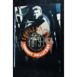 JOHNNY HALLYDAY * CADILLAC TOUR * 90 / 91 * Programme
