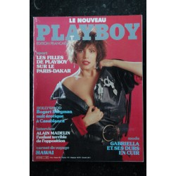PLAYBOY 1 FILLES DE PLAYBOY PARIS-DAKAR EROTISME BOGART BERGMAN CUIR HAWAI SEXY