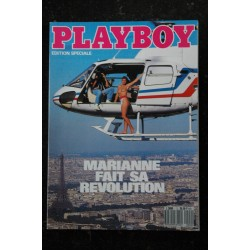 PLAYBOY 2 EDITION SPECIALE MARIANNE FAIT SA REVOLUTION EXHIBITION DANS PARIS HOT