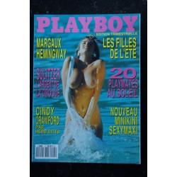 PLAYBOY 5 MARGAUX HEMINGWAY RENEE TENISON CINDY CRAWFORD KATHY SHOWER DIANE LEE
