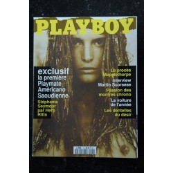 PLAYBOY 6 STEPHANIE SEYMOUR NUE PAR HERB RITTS DENTELLES DESIR STEPHEN WAYDA HOT