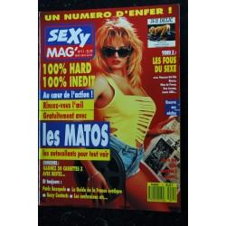 SEXY MAG' 9 BRIGITTE LAHAIE LA CICCIOLINA ANGELA BARON L'EXTASIA PARIS SEXOPOLE 1989